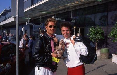 Rocco and Pierre ( Sydney - Nov 6.1991 ).jpg